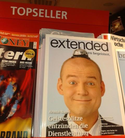Service Redner Armin Nagel  extended Wissen begeistert