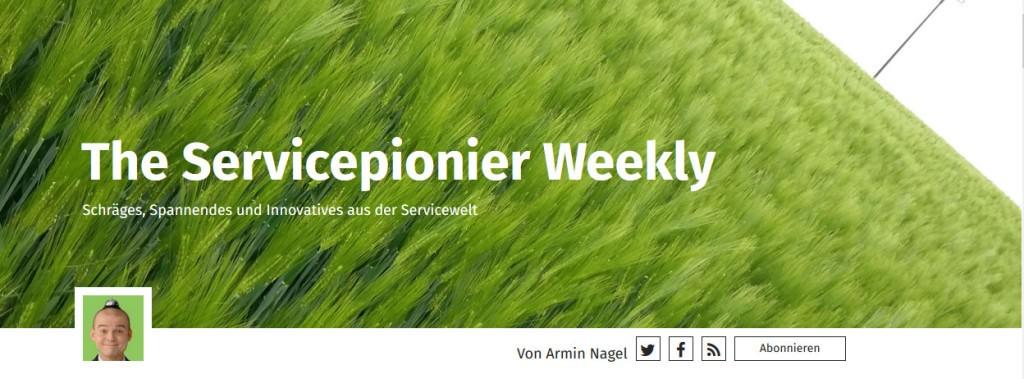 Header Servicepionier weekly
