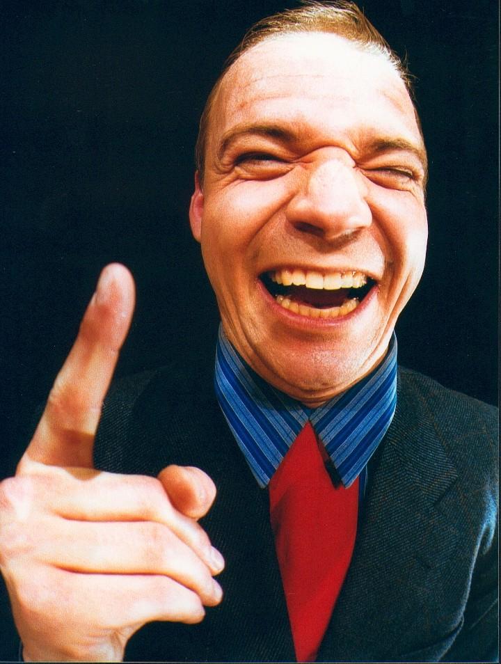 Erstes Gebot: Du darfst nicht langweilen! Serviceexperte und Comedyredner Armin Nagel hält sich dran.