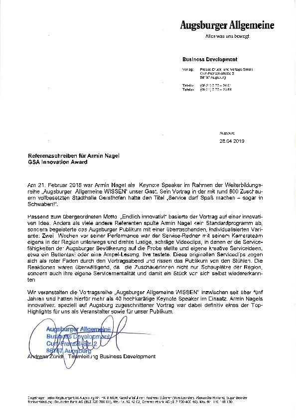 TV_Service_Experte_Armin_Nagel_Vortrag_Thema_Service_AZ_Wissen